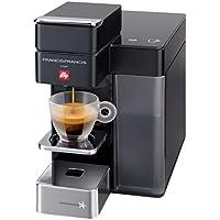 Illy 60202 Independiente Totalmente automática - Cafetera (Independiente, Cafetera de filtro, 0,9 L, Cápsula de café, Negro)