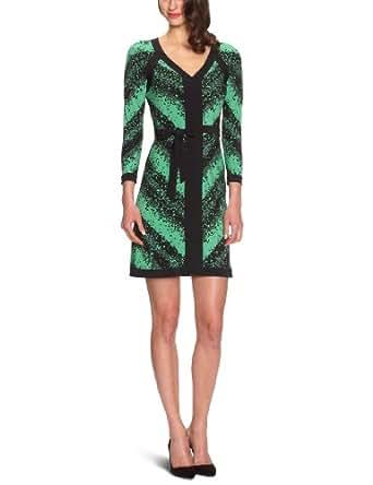 BCBGMAXAZRIA - Robe - Femme - Vert (Kellygrnco) - FR : 36 (Taille Fabricant : XS)