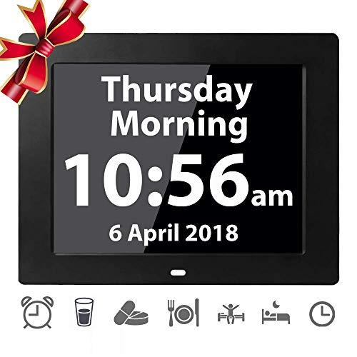 Calendario Digitale Per Anziani.Ve Faii Elettronico Tavolo Sveglia Orologio Digitale Calendario Orologio Giorno Per La Perdita Di Memoria Anziani Demenza Morbo Di Alzheimer Disturbi
