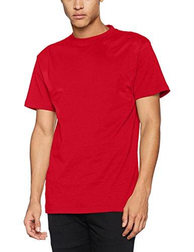 James & Nicholson Herren T-Shirt Workwear-T Men Rot (Red)