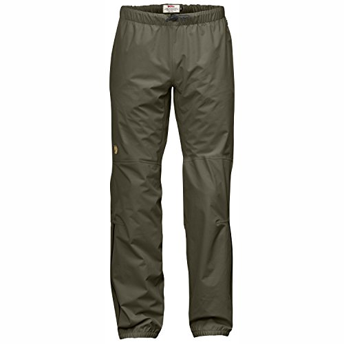 Fjällräven Herren Abisko Eco-Shell Trousers Shellhose, Tarmac, XL