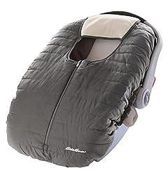 Eddie Bauer Warm Cozy Weather Resistant Reversible Carrier Car Seat C by Eddie Bauer