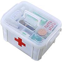QIAN Tragbares Outdoor-Haushalt Kunststoff-Medizin-Kit Auto Erste-Hilfe-Kit preisvergleich bei billige-tabletten.eu