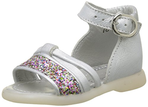 Little Mary Maryse, Bout Ouvert Fille, Blanc (Vachette Blanche), 20 EU