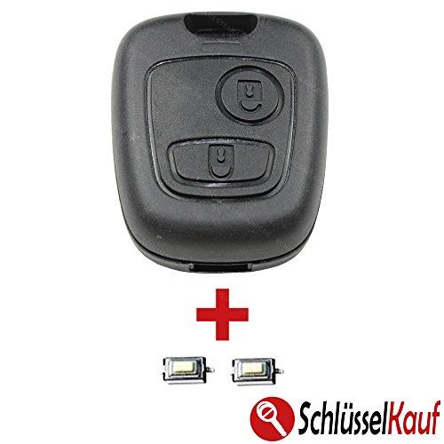 ehäuse Funk Fernbedienung Ersatz 106 107 206 207 306 307 BOXER EXPERT + 2x TASTER Mikrotaster Autoschlüssel Neu ()