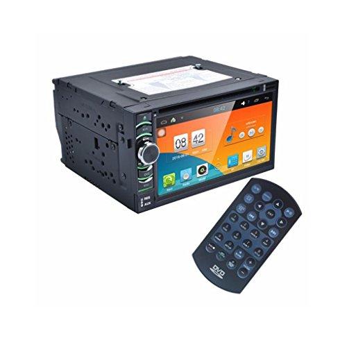 Lacaca 2DIN autoradio Android 4.4stereo auto lettore PC DVD GPS Navi In Dash Navigation Headunit lettore video MP3/MP4/GPS/SD/USB/FM/AM Radio Video Audio Stereo