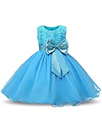 ANVI Collections Girls Birthday Dress and Party Wear Gown_AIJS_888