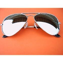 "ALPLAND Pilotenbrille Sonnenbrille 80er "" TOP GUN "" inkl. Softbag!"