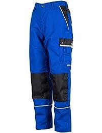 TMG® - Pantalones cargo para mecánicos y fontaneros - Muy resistentes - Azul real