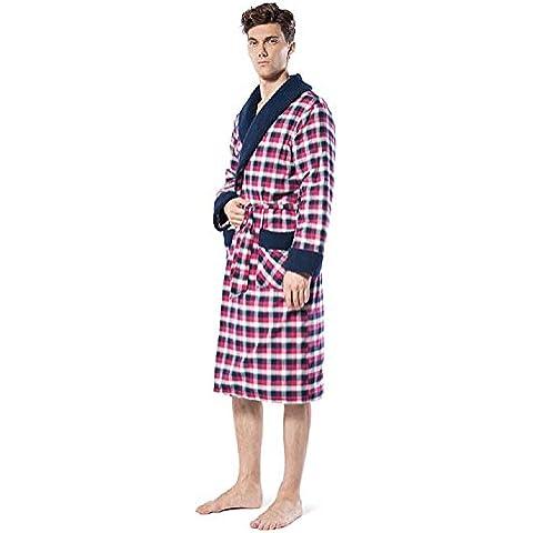 Accappatoio di cotone pigiama di cotone accappatoi