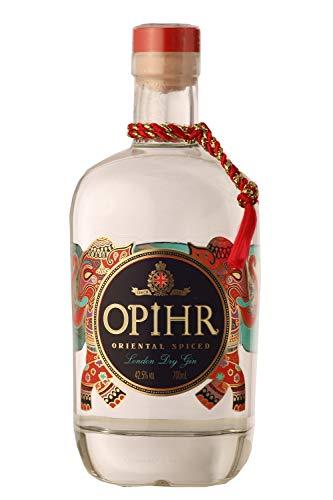 Opihr Oriental Spiced London Dry Gin 42,5{2d25bb748a745eedf78322f3f074dce137e16c8182f876a79925fce033fd8280}, mit Kräutern und Gewürzen aus dem Orient, von Englands ältestem Hersteller von Gin seit 1761 (1 x 0.7 l)