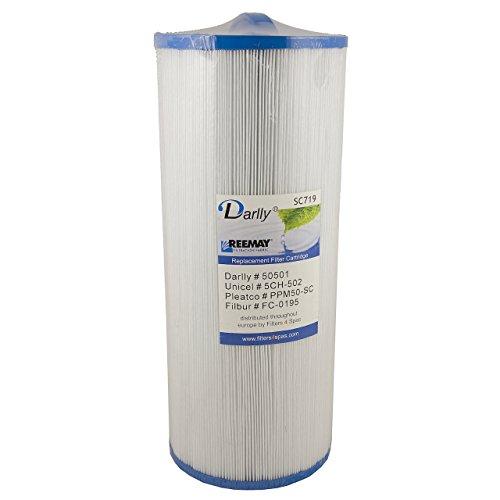 Darlly® Filter Ersatzfilter SC719 Lamellenfilter Marquis Spa Cal Spas Whirlpool -