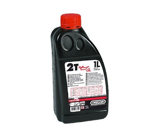 Oregon Zweitaktöl 1 Liter 2 Takt Öl für Benzin Motorsense Kettensäge Laubsauger etc.