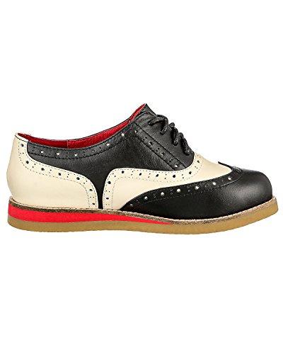 Lola Ramona 'Cecilia' Chaussures - schwarz/sand-beige