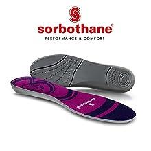 Sorbothane – Solette cush-n-step, dimensioni 38-40 EU (5-6.5 UK)