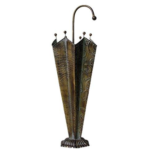 XXGI Schirmständer - Handcrafted Regenschirm-Speicher-Lösung, Schirm-Halter für im Freien, Innen - dauerhafter Regenschirm-Zahnstange. Patio Möbel und Zubehör (24 * 68cm) - Patio-regenschirm-halter