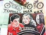 Tornax... begeistert jeden Kenner ! V 175, T 175, K 125 H. Beilage - 3 Werbeblätter zu den genannten Motorrädern und eine Preisliste.