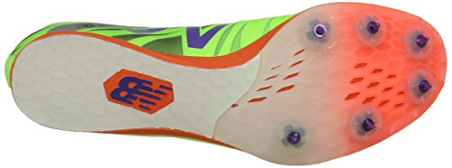 New Balance Women's MD800 Track Spike Lime/Orange