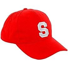 New Casquette de Baseball Cap ROUGE Garçon Fille Enfants Chapeau Bonnet  Unisexe A-Z Alphabet (S 36d223a40fb