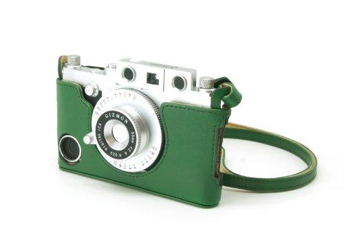 Gizmon iCA GZ-ICA4020 Case und Strap für Apple iPhone 4/4S schwarz grün