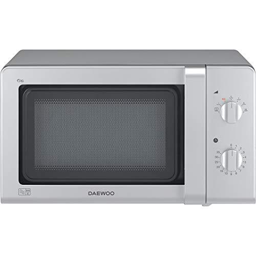 Daewoo KOR6M27SLR Manual Control Microwave, 800 W, 20 Litre, Silver