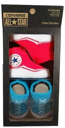 Converse Babysocken - INFANT BOOTIES - Diva Pink, Schuhgröße:0-6 Mon.