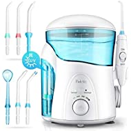 iTeknic Water Flosser with UV Sterilizer, Dental Flosser for Teeth with 2 Modes,7 Jet Nozzles and 600ml Reservoir,10 Adjustable Water Pressure and FDA Approved Oral Irrigator for Dental Cleaning