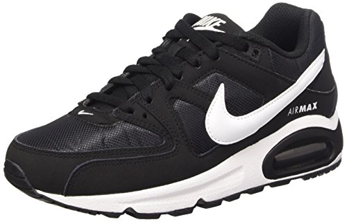 Nike Wmns Air Max Command, Scarpe da Ginnastica Donna, Nero (Black/White), 38 EU
