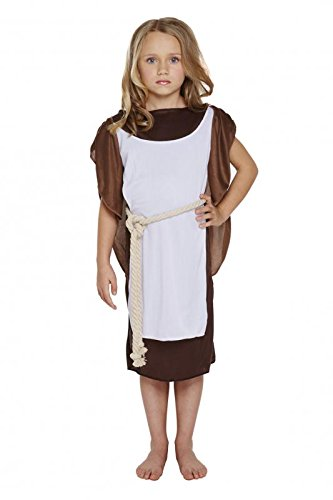 GIRLS VIKING GIRL COSTUME - LARGE (10 - 12 YEARS) (Girl Story Kostüm Toy)