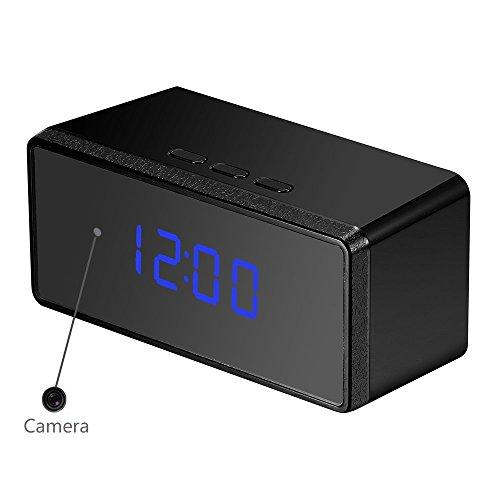 OMOUP-16GB-1080P-HD-Cmara-Espa-Oculta-Reloj-Despertador-Digital-Camaras-con-Detectores-de-Movimiento-de-Visin-Nocturna