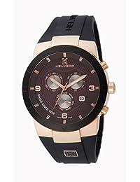Helveco H01812MIM - Reloj , correa de goma color negro