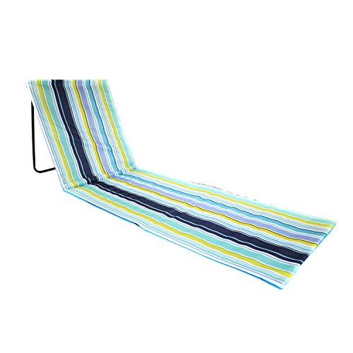 Oypla camping portatile beach mat sedia pieghevole sdraio da spiaggia all';aperto
