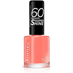 Rimmel - 60 Seconds Super Shine - Vernis à ongles Instyle Coral - 8 ml