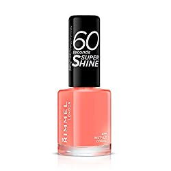 Rimmel 60 Seconds Super Shine, 415 In style Coral, 8ml