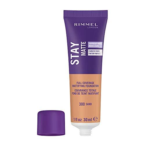 Rimmel London Stay Matte Liquid Mousse Foundation 30ml - 300 Sand