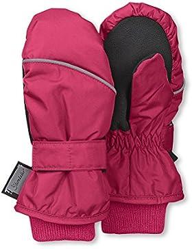 Sterntaler Fäustel für Kinder, Handschuhe, Wasserabweisend und reflektierend, Pink