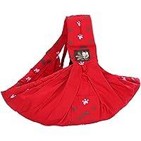 e112db73ac4f Vine Porte-bébés dorsaux Premium Porte-bébé en coton naturel, Écharpe de  portage
