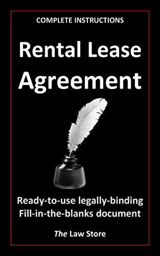 Rental Lease (with instructions) (English Edition)