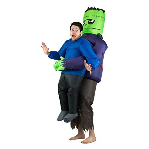 Fancy Dress Huckepack Kostüm - Bodysocks Fancy Dress 5060298047182 Kostüm, Unisex Adult, mehrfarbig, Frankenstein Lift
