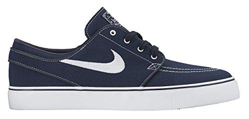 Nike Zoom Stefan Janoski Cnvs, Chaussures de Skate Homme Bleu Marine