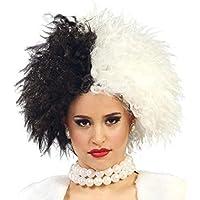 Parrucca Crudelia black & white nera e bianca