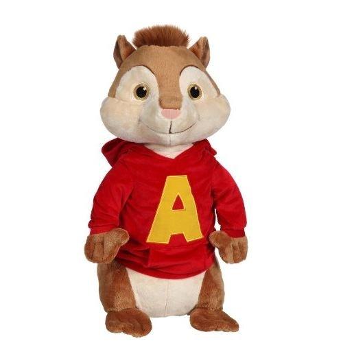 ALVIN Chipmunks PELUCHE Plusch 18cm Original (Alvin Chipmunks Spielzeug)