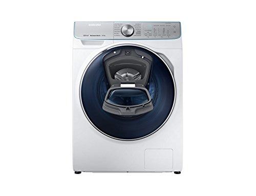 Samsung WW8800 QuickDrive WW10M86BQOA / EG Waschmaschine Frontlader / A+++ / 1600 UpM / Automatische Waschmitteldosierung / AutoOptimalWash-Programm / AddWash / SchaumAktiv-Technologie