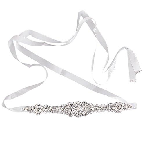 Hochzeit Brautkleid Schärpegurt Kristall Strass Gürtel Schärpe Mit Perlen