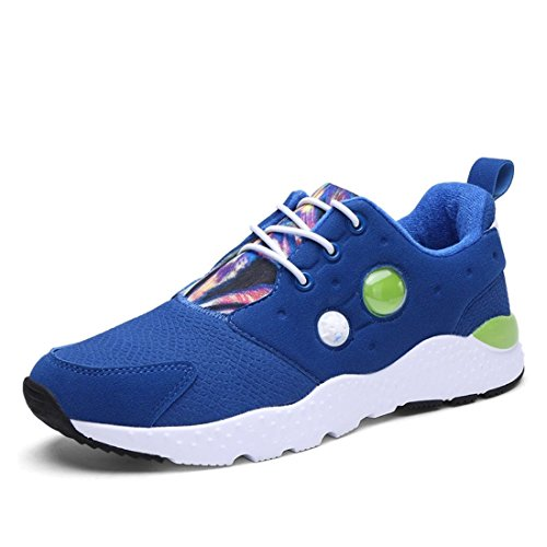 Men's Lace Up Athletic Training Shoes The light blue