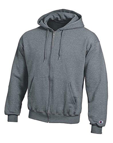 champion-mens-double-dry-eco-fleece-full-zip-hood-s2404-charcoal-heather-2xl-champion-man-double-dry