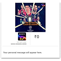 Flat 25% off at checkout  SonyLIV E-Gift Card