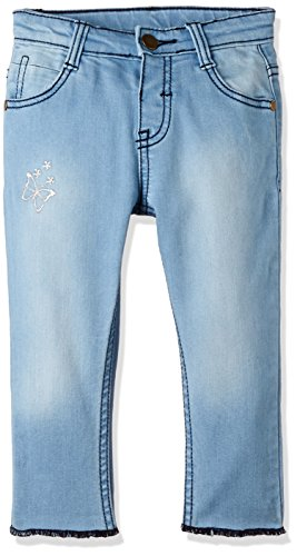 Donuts Baby Girls' Jeans (269783677 LT-BLUE 12M IN-30)