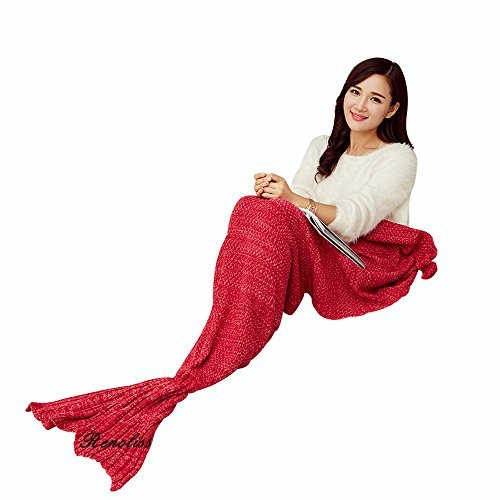 knitting-pattern-mermaid-tail-blanket-by-s-d-with-scales-pattern-sleeping-bag-air-conditioning-blank