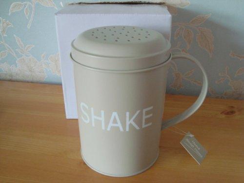 Home Sweet Home Streuer Tin Flour Sifter